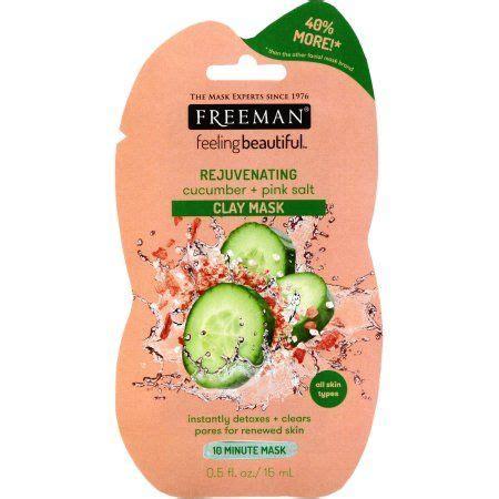 Freeman Clay Mask Pink Salt freeman cucumber and pink salt clay mask reviews photos