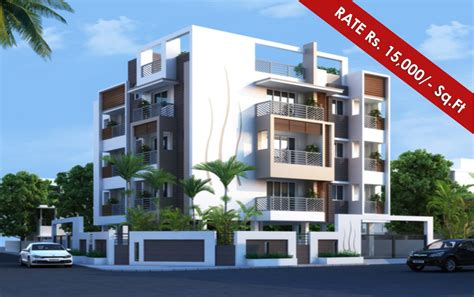 Appartment Elevation by Apartment With Beautiful Elevation Studio Design