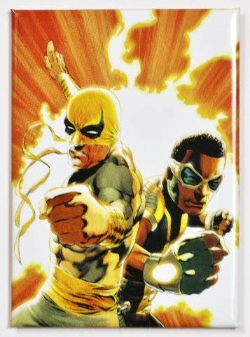 power man  iron fist fridge magnet marvel comics luke cage