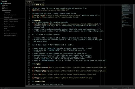 sublime text 3 orange theme big list of sublime text themes tyler longren