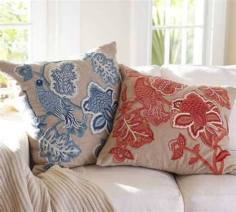 Pillow Covers Pottery Barn by Lilian Palore Embroidered Pillow Covers Pottery Barn