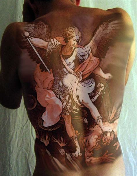 st michael tattoo design by aidan8500 on deviantart