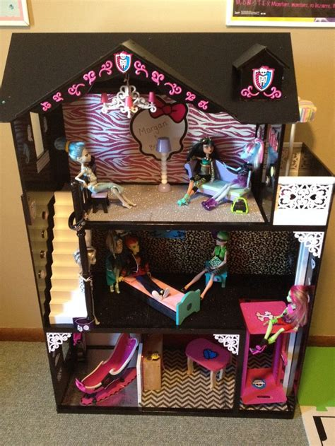 my monster high doll house tour monster high house tour handmade crafts