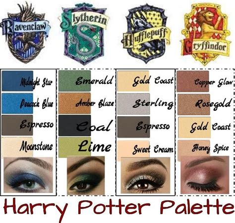 harry potter eye color get your own harry potter palette using mineral