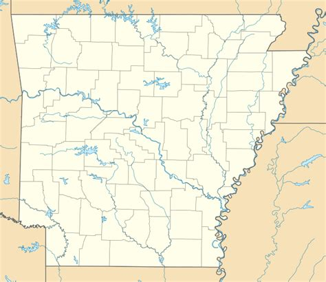 Arkansas Map Usa Images File Arkansas In United States Svg - Arkansas on the us map