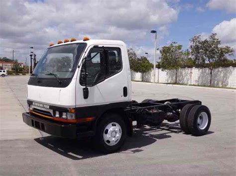 mitsubishi trucks mitsubishi fuso fe639 cab chassis 1998 light duty trucks