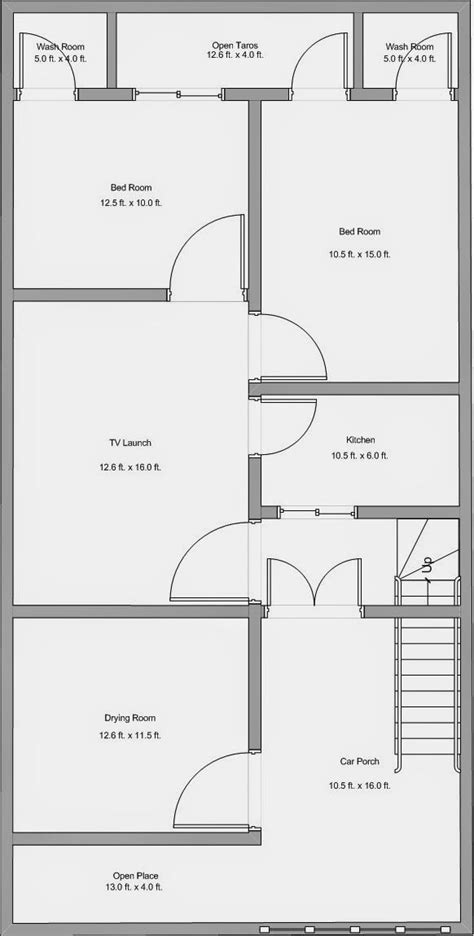 House Plan 25 X 50 Awesome Alijdeveloper Blog Floor Plan