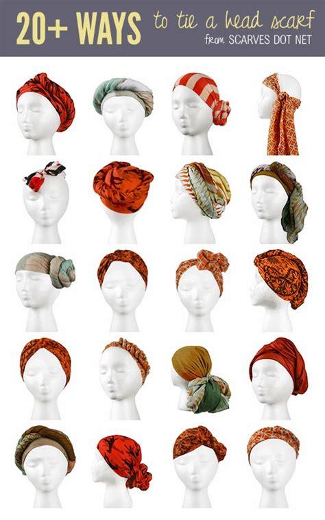 afro divas different ways to tie a scarf