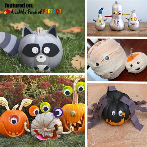 10 Easy No Carve Pumpkin 13 Not So Scary No Carve Pumpkins For