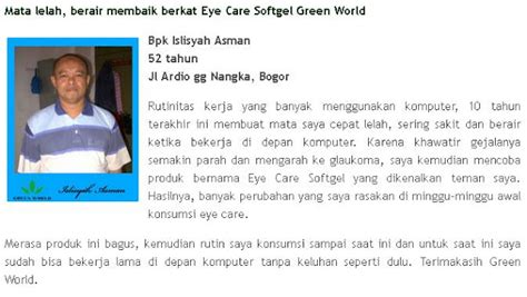 Obat Kesehatan Mata Alami cara menjaga kesehatan mata secara alami produk green world