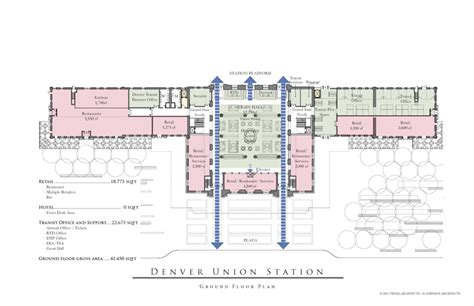 union station floor plan denver union station to become leed gold transit hub and