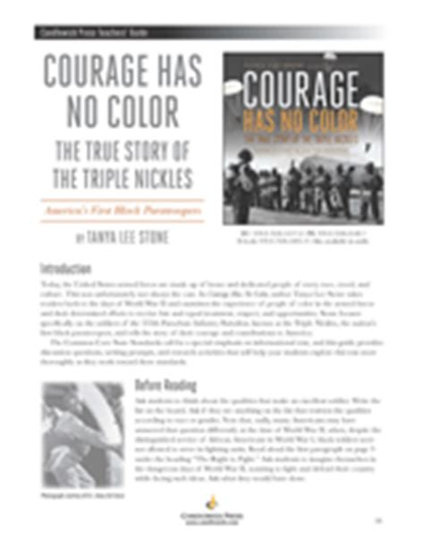 courage has no color courage has no color the true story of the nickles