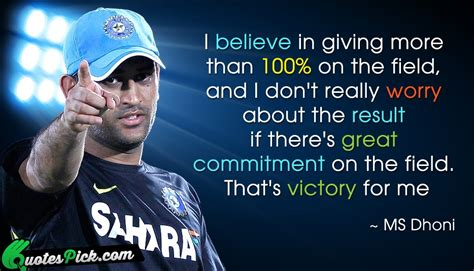 ms dhoni s inspirational poem dhoni quotes like success