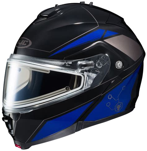 motocross helmet with shield hjc is max 2 elemental snow helmet electric shield 20