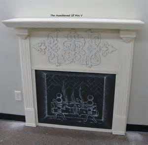 diy fireplace cover up the humblenest of mrs v diy faux fireplace