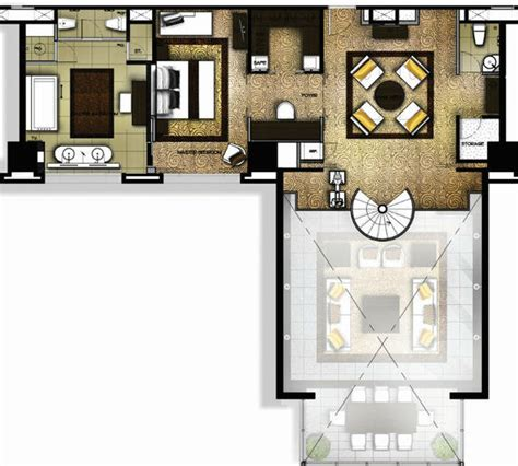 presidential suite floor plan bangkok city suite banyan tree bangkok presidential suite