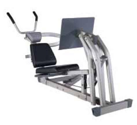 nautilus bench press machine nautilus ns 75x abs and leg press module accessory for