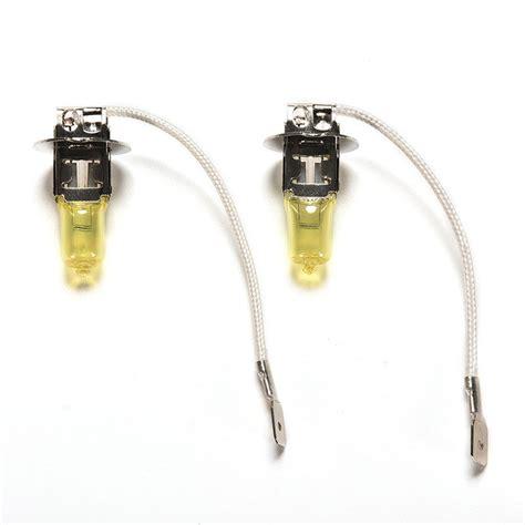 Fog L Bulbs by 2x H3 Halogen 3000k 55w Fog Lights Driving Light Bulbs