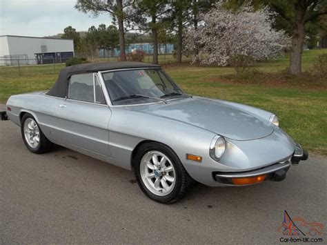 Alfa Romeo Spider 1974 by 1974 Alfa Romeo Spider Www Imgkid The Image Kid