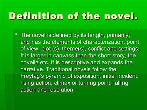 The Is In A Novel the modern novel