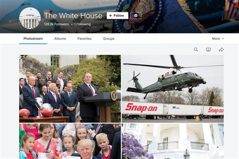 white house flickr the trump administration resurrects the white house s flickr account the verge