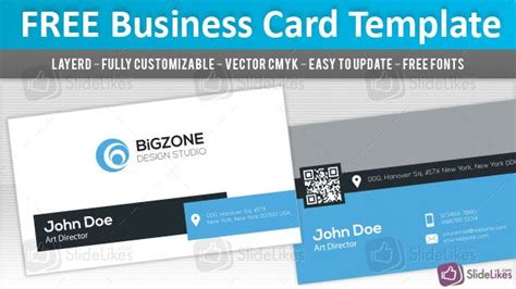 free business card templates for powerpoint 21 best images about free powerpoint templates on