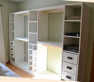 diy closet systems ana white master closet system diy projects