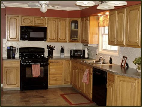 Cabinets With Black Appliances by White Kitchen Cabinets With Black Appliances Home
