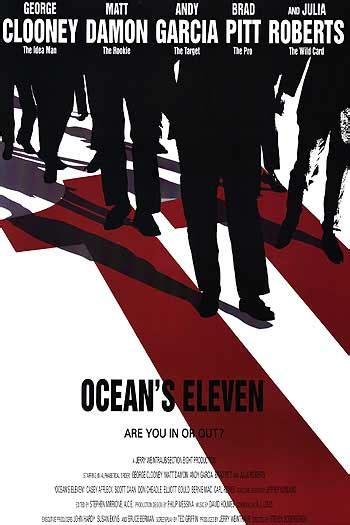 Ocean's 11 movie posters for sale, Brad Pitt, George ... K 11 Poster