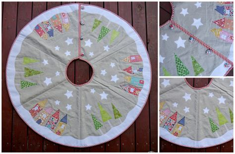 pattern to make a yuletide christmas tree skirt instant