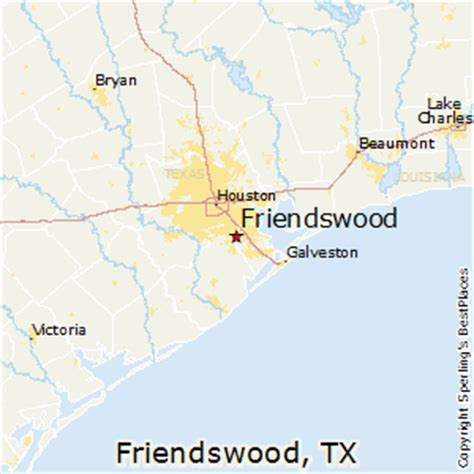 friendswood texas map best places to live in friendswood texas