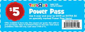 Toys r us promo coupon codes and printable coupons