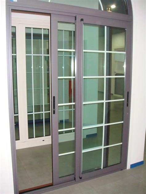 Design House Brand Door Hardware grill design aluminum sliding door aluminum window door