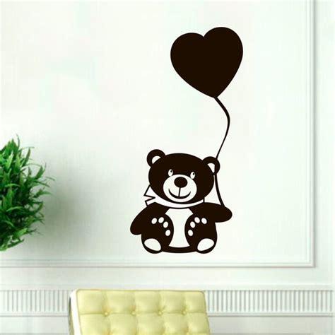 nursery decor stickers teddy wall decal nursery vinyl sticker decor