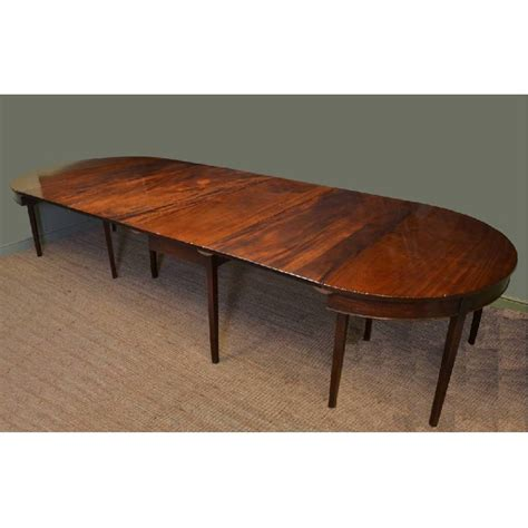 12 Foot Dining Table Twelve 12 Ft Georgian Mahogany Antique Dining Table Antiques World