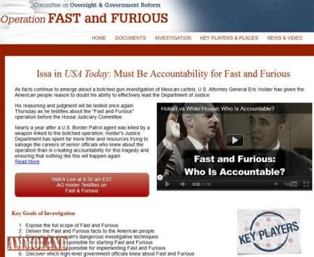 fast and furious website fastandfuriousinvestigation