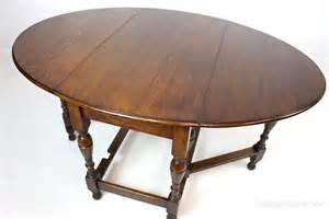 Drop Leaf Gateleg Dining Table Antiques Atlas Oak Gateleg Drop Leaf Oval Dining Table