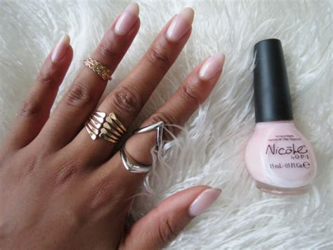 almond nails look of almond nails and how to get an almond shape with natural nails mckenzie renae