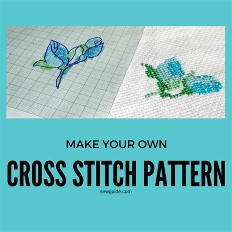 pattern maker software cross stitch how to make a cross stitch pattern 4 easy ways sew guide