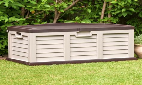 Plastic storage garden, plastic outdoor storage chest