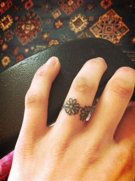 small ring tattoos 1000 ideas about small on