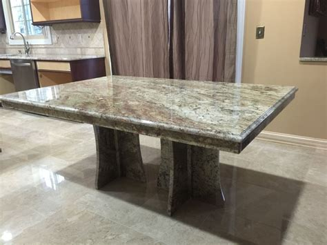 granite top table table bases for granite tops chosing a table base for your