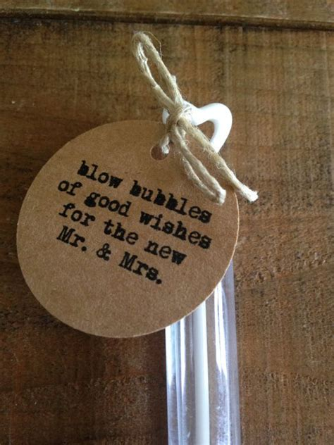 wedding bubbles 50 rustic wedding tags wedding the and mr mrs