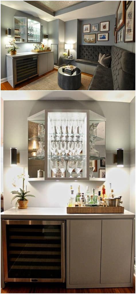 cool  creative home bar lighting ideas