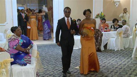 Bridal Party & Groomsmen Wedding Entrance   GTA Nigerian