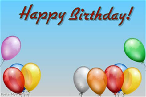 happy birthday poster template birthday poster templates postermywall