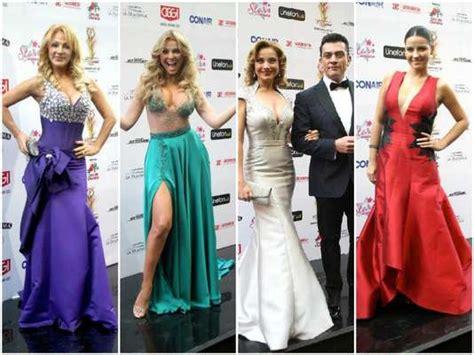 predicciones ganadores premios tv y novelas colombia 2015 desfile de famosas alfombra roja de premios tvynovelas