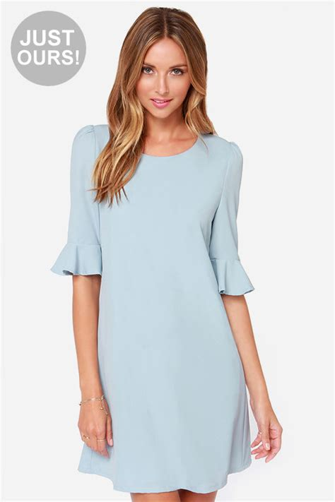 Light Blue Shift Dress by Light Blue Dress Shift Dress Sleeve Dress 43 00