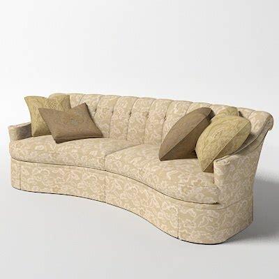 thomasville riviera sofa thomasville riviera curved 3d model