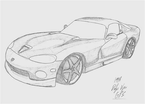 how to draw a dodge challenger drawingforall net request dodge viper by esszx on deviantart